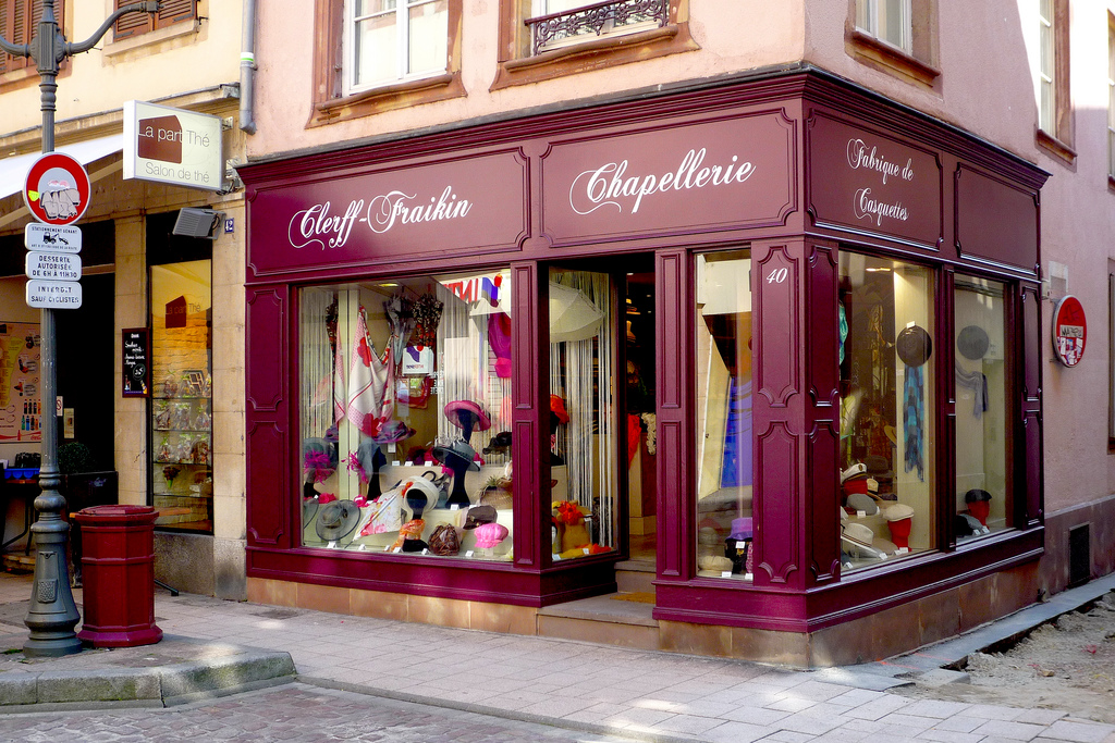 Le magasin Clerff-Fraikin